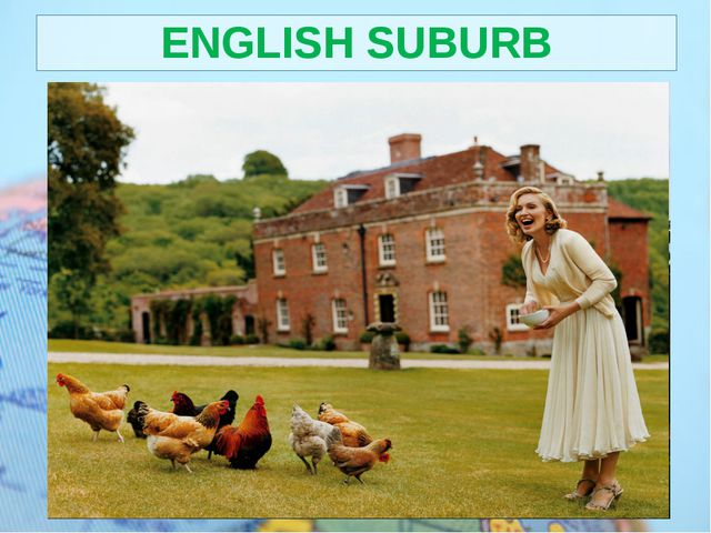 ENGLISH SUBURB