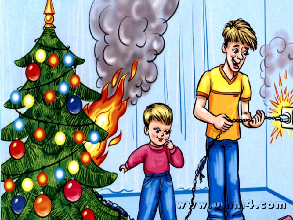 Новый год и пожарная безопасность