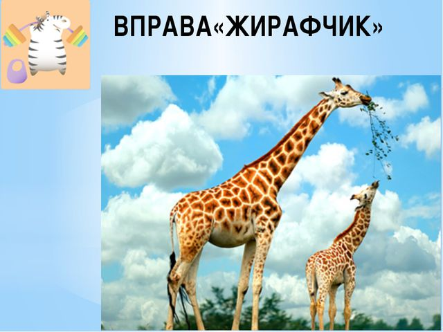 ВПРАВА«ЖИРАФЧИК»