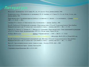 Литература Новоазовск : Путеводитель / Л. И. Санин, 56 с. ил., 16 л. цв. ил.