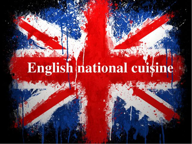 English national cuisine