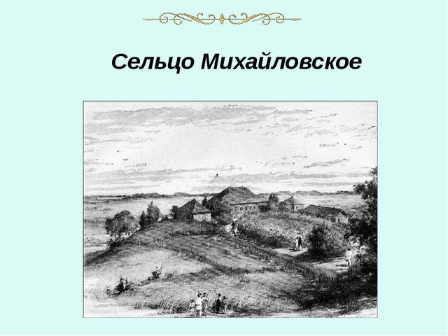Сельцо Михайловское