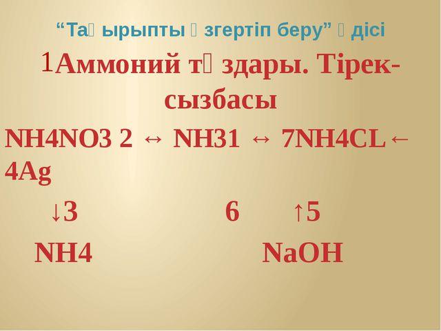 . NH3 + HCL = NH4CL . NH3 + HNO3 = NH4 NO3 .NH4 NO3 → NH4+ + NO3- .NH4CL + Ag...