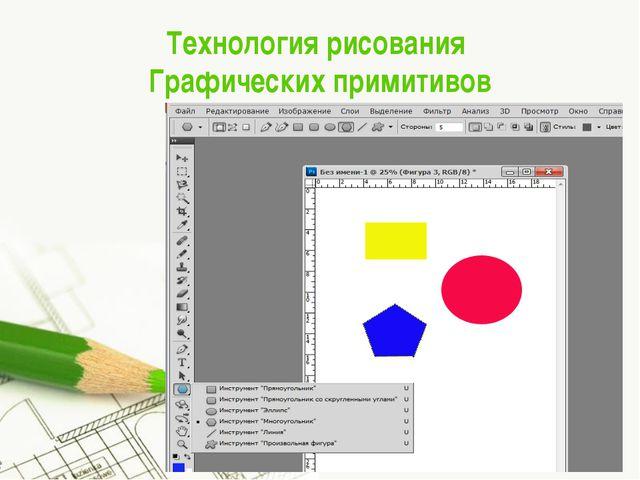 Технология рисования Графических примитивов Page *