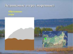 Ледниковые озера (моренные) Образование озера