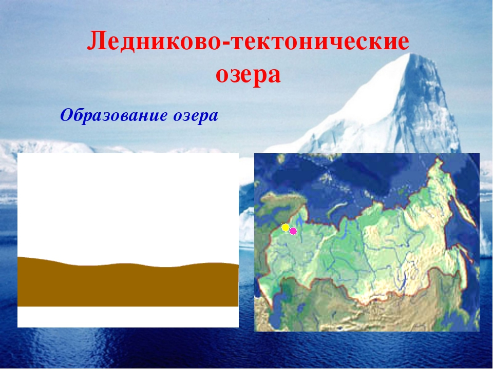 Ледниково-тектонические озера Образование озера