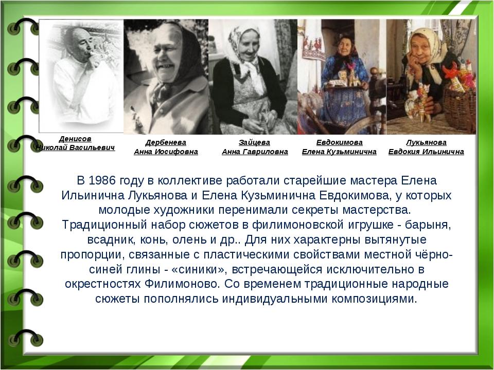 Денисов Николай Васильевич Дербенева Анна Иосифовна Зайцева Анна Гавриловна Е...