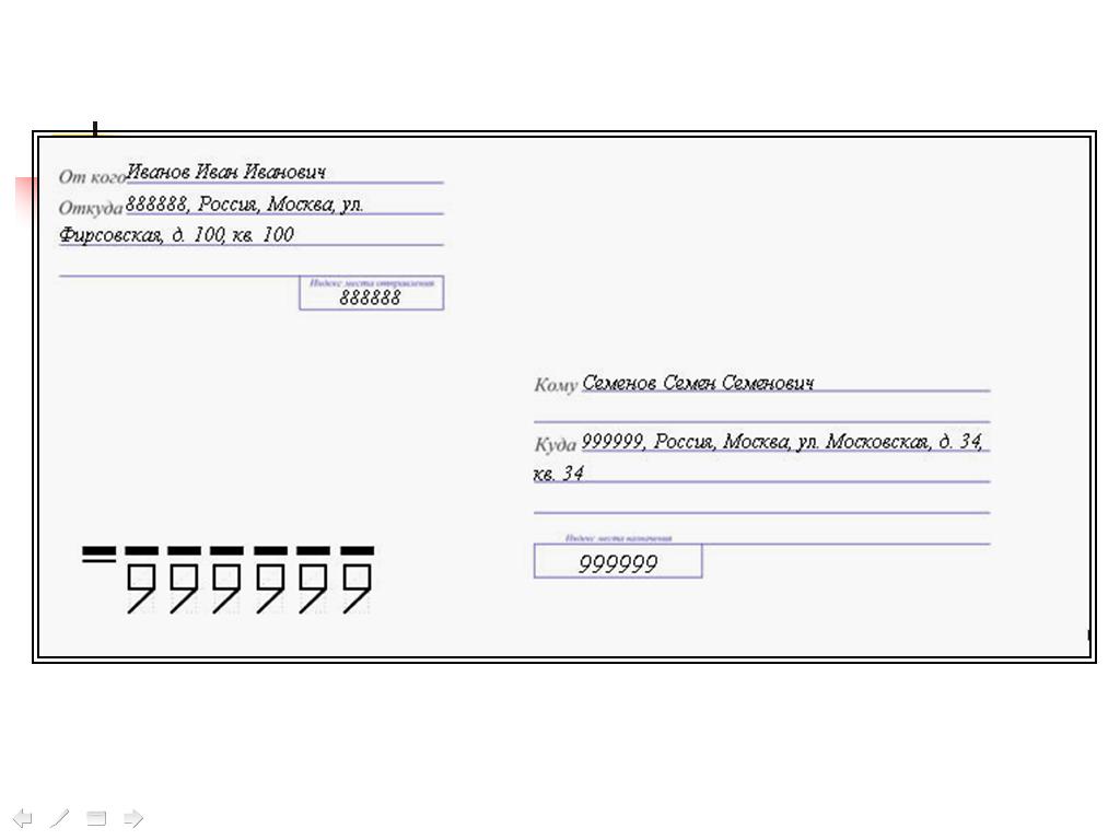 Индекс от конверта картинки
