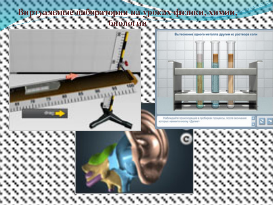 Виртуальные лаборатории на уроках физики, химии, биологии