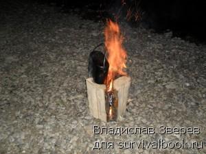 Приготовление пищи на Таежной свече-2