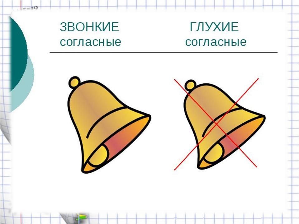 картинка символ согласного