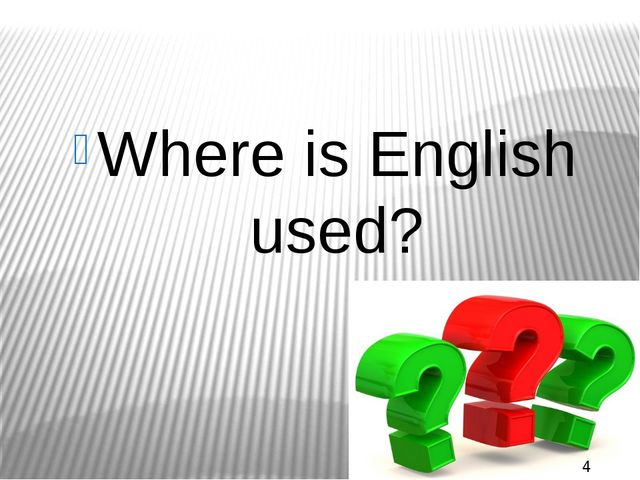 16th century In what century people living in Europe didn't know English?