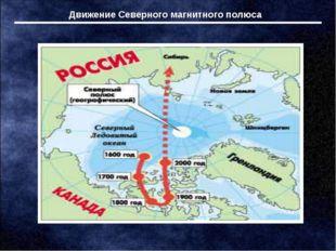Движение Северного магнитного полюса