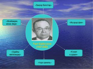 Раил Байбулатов (1937-2002) «Әсәйемдең алсаҡ йөҙө» «Зәңгәр болоттар» «Иң ауы
