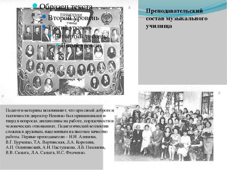 Преподавательский состав музыкального училища Педагоги-ветераны вспоминают, ч...