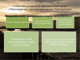 Сетевой международный образовательный проект «Образование вне стен классной к