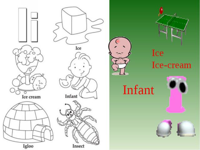Ice Ice-cream Infant