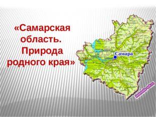 «Самарская область. Природа родного края»