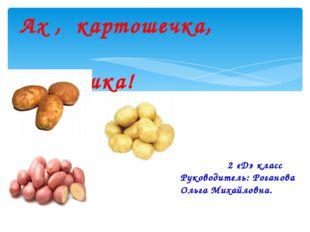 Ах , картошечка, картошка! 2 «Д» класс Руководитель: Роганова Ольга Михайлов