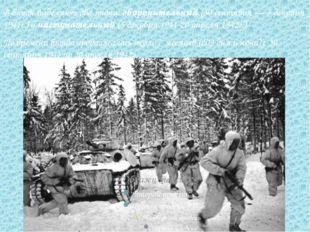 В битве выделяют два этапа: оборонительный (30 сентября — 5 декабря 1941г.) и