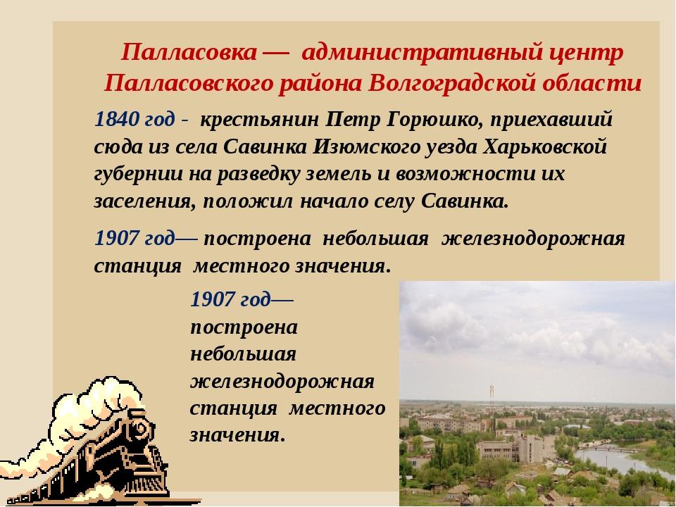 Палласовка — административный центр Палласовского района Волгоградской област...
