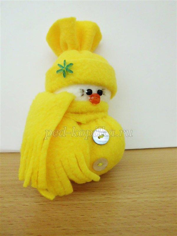 Снеговик своими руками. Мастер-класс