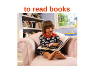 to read books
