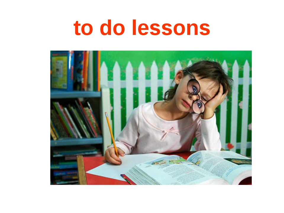 to do lessons
