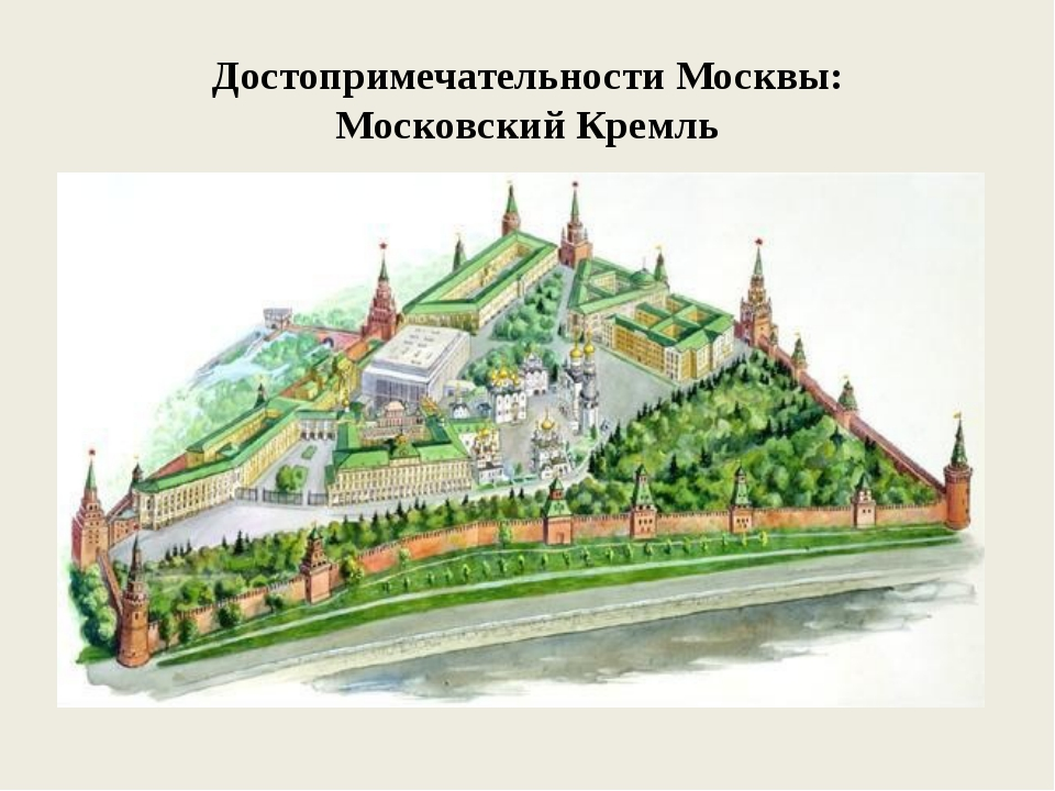 Достопримечательности Москвы: Московский Кремль