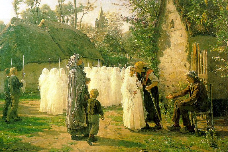 Breton, Jules (French, 1827-1906) 2. Французские художники