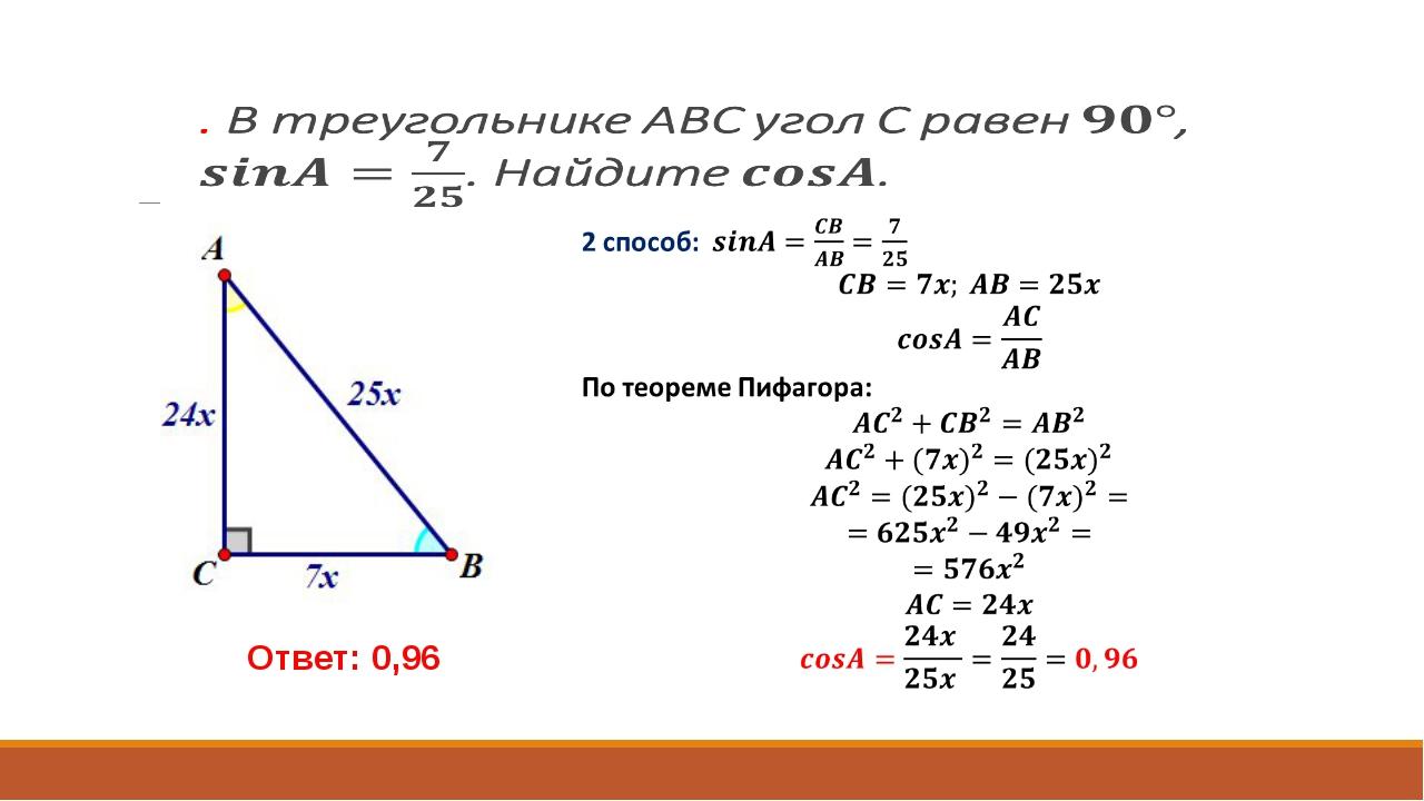 Ответ: 0,96