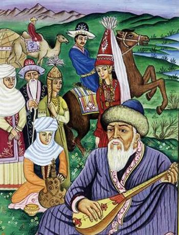 Казахская домбра - инструмент не только музыки, но и дружбы между народами