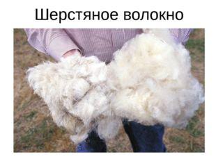 Шерстяное волокно