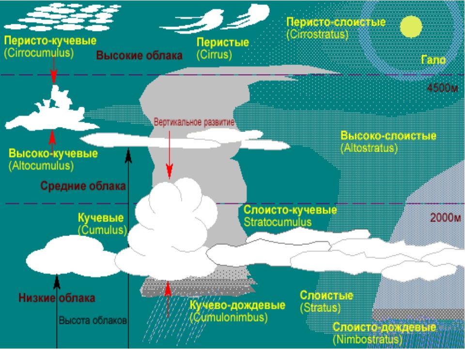 ПОГОДА – совокупность процессов, происходящих в атмосфере в данное время на о...