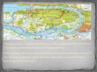 Самарская Лука – уникальная местность, образованная изгибом реки Волги и Усин