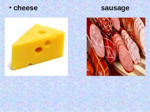 cheese sausage
