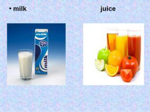 milk juice