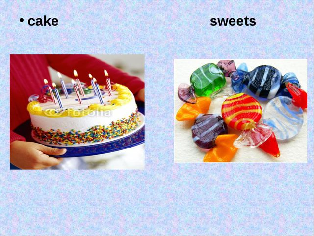 cake sweets