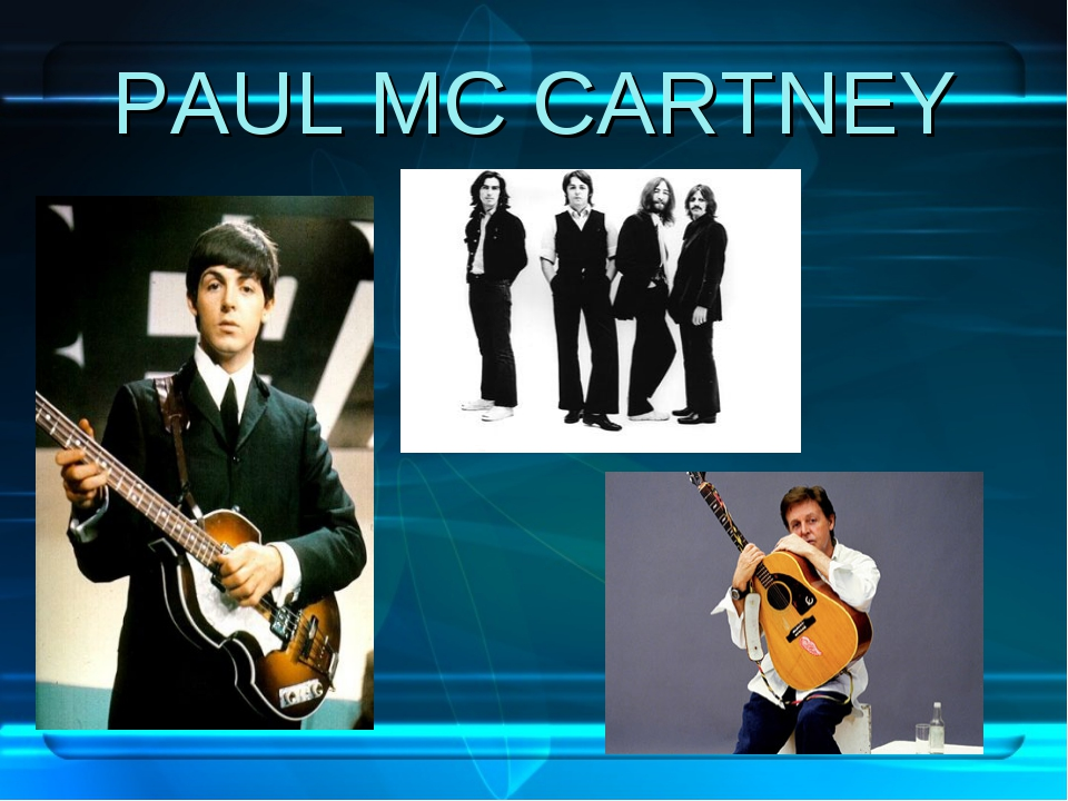 PAUL MC CARTNEY