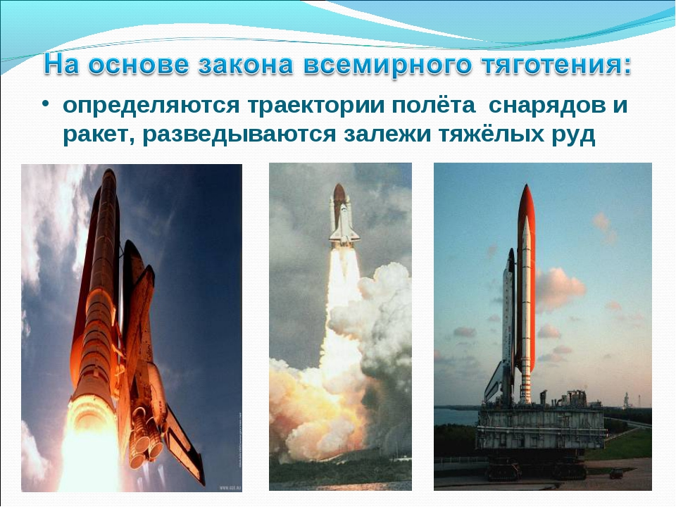 определяются траектории полёта снарядов и ракет, разведываются залежи тяжёлых...