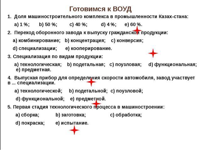 Первое предприятие машиностроения в Казахстане - мастерская по изготовлению...