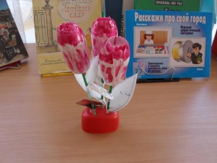 Тюльпаны для мамы - ГБДОУ детский сад №101