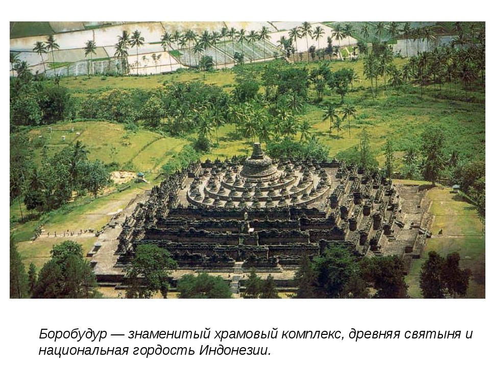 Боробудур — знаменитый храмовый комплекс, древняя святыня и национальная горд...