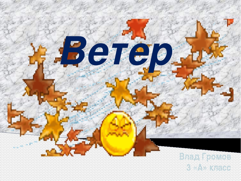 Ветер Влад Громов 3 «А» класс