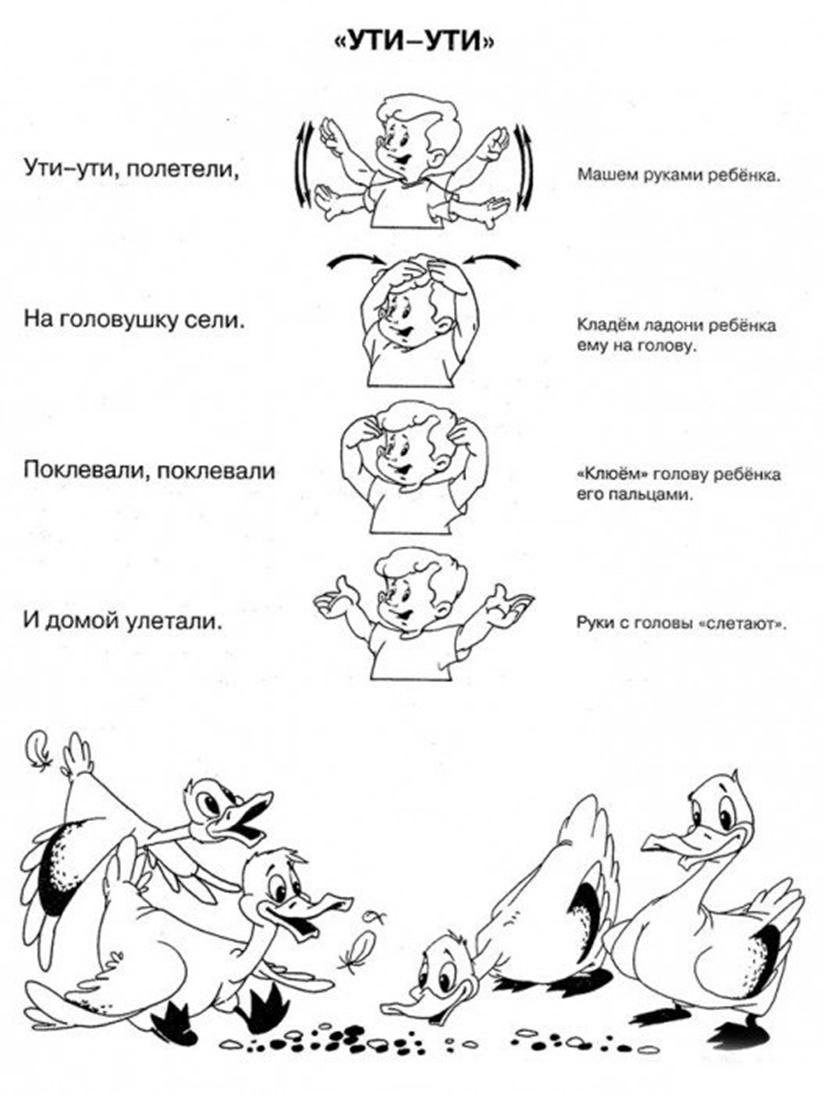 Детям пальчиковые игры в картинках