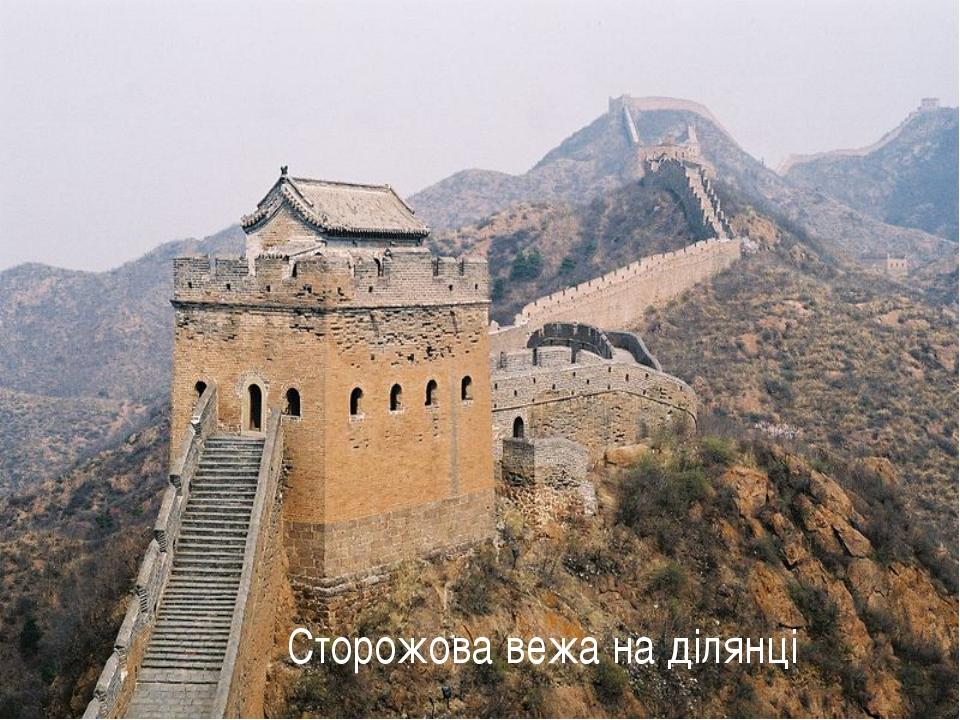 Сторожова вежа на ділянці