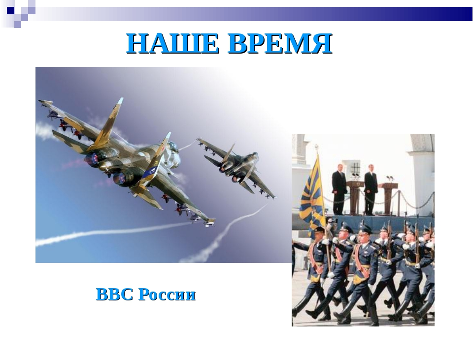 НАШЕ ВРЕМЯ ВВС России
