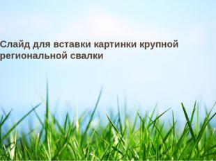 22 июля 2012 г. Текст нижнего колонтитула Слайд для вставки картинки крупной