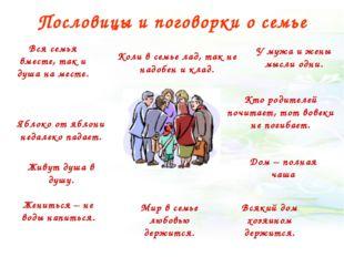 Пословицы и поговорки о семье Яблоко от яблони недалеко падает. Кто родителей