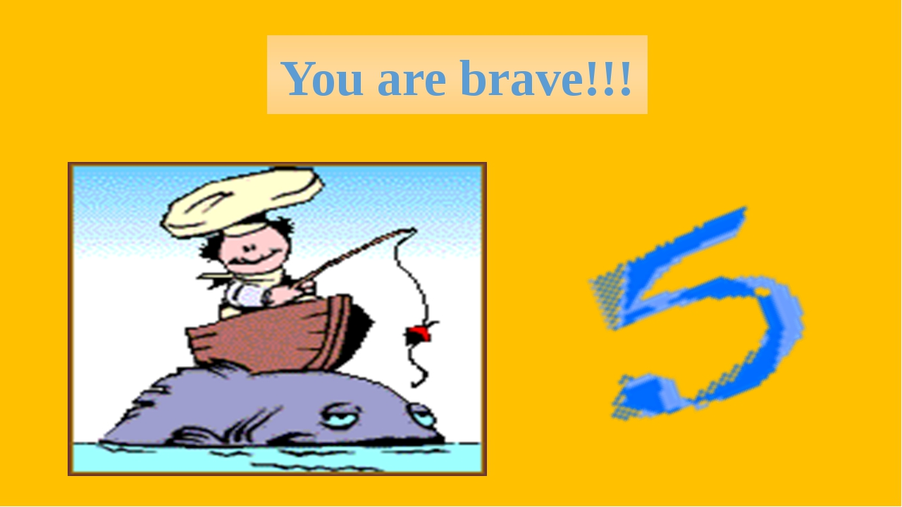 You are brave!!!